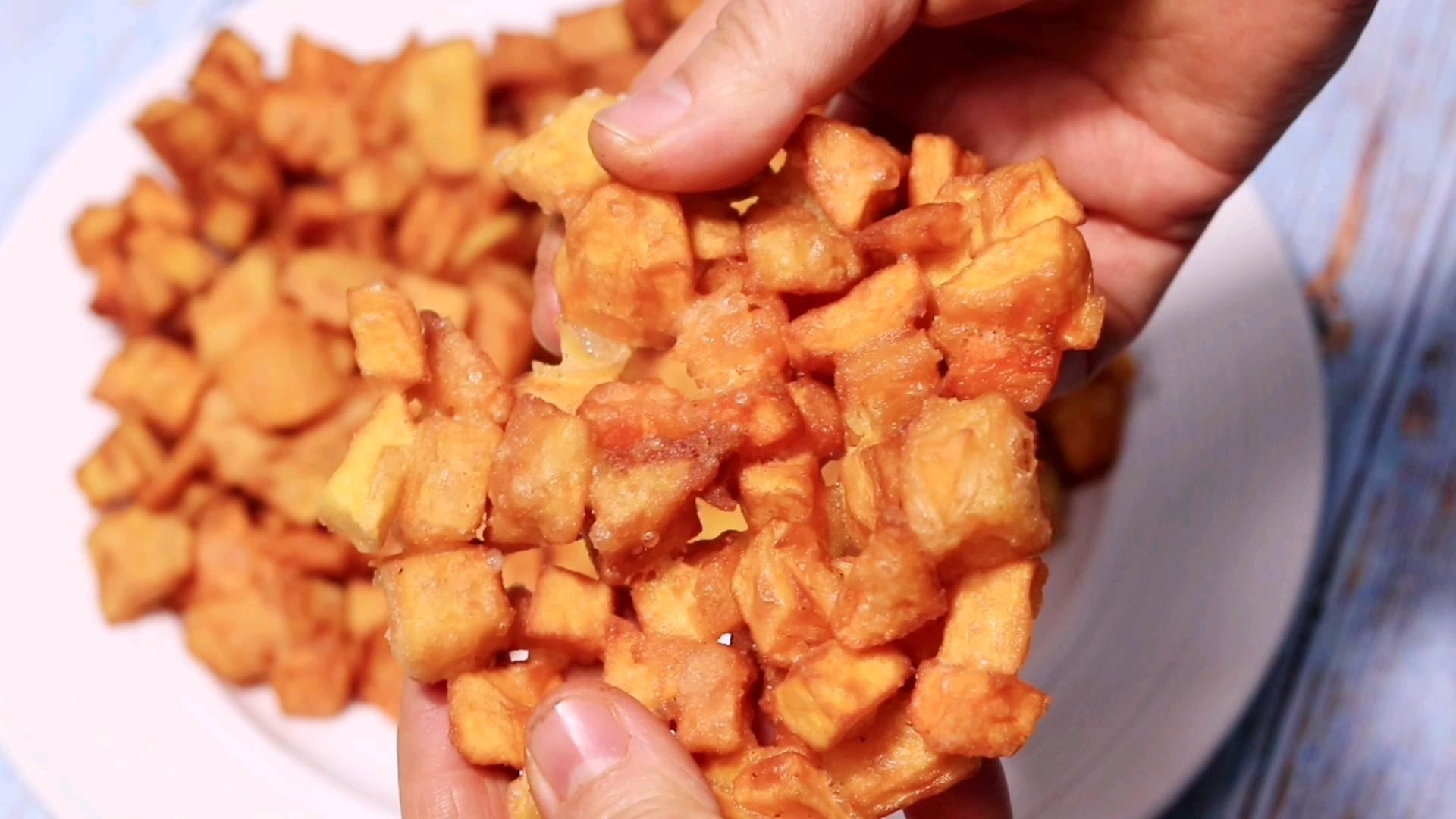 香脆红薯饼