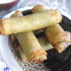 武汉韭菜春卷