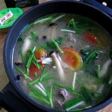 牛肉丸浓汤