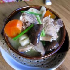 排骨饺子火锅