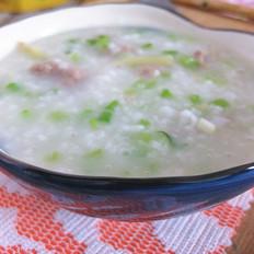 芹菜瘦肉砂锅粥
