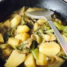 下饭的茄子炖土豆