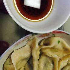 韭菜豆腐水饺