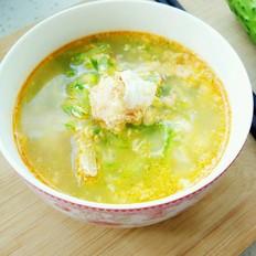 黄瓜鲜虾汤的做法