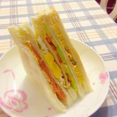 三明治早餐