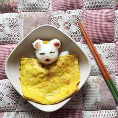 午睡小熊饭团