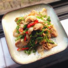 四川尖椒回锅肉