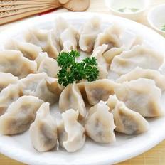 玉米虾仁水饺