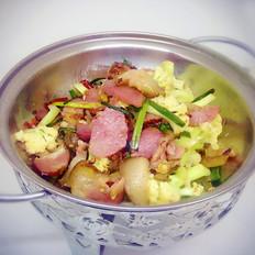 花菜炒腊肉