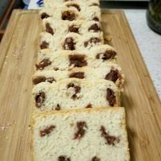 梅花吐丝面包