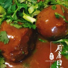 速食菜谱-咖喱牛肉丸