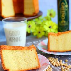 #格琳诺尔#豆浆戚风蛋糕的做法