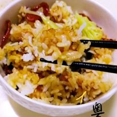 粤式腊味叉烧煲仔饭(电饭锅版)