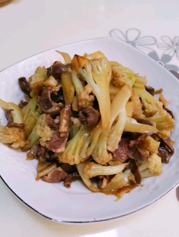 花菜炒豬心