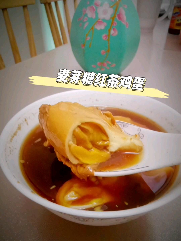 麦芽糖红茶鸡蛋