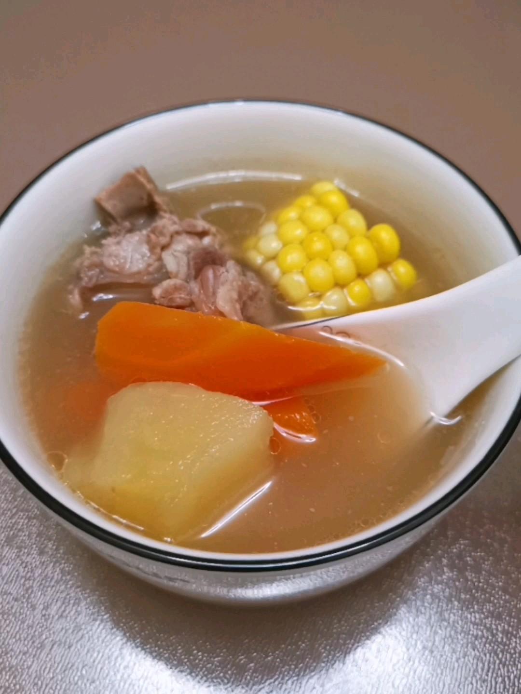 苹果胡萝卜排骨汤