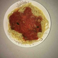 西红柿洋葱意大利面