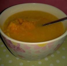 红薯玉米渣粥的做法