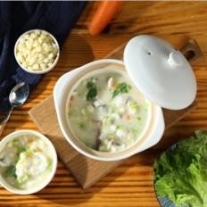 石斑鱼玉米粥