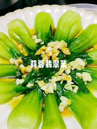 蒜蓉翡翠菜的做法