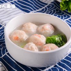 生菜虾丸汤