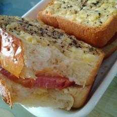 经典白吐司--另附:奶酪火腿吐司组合