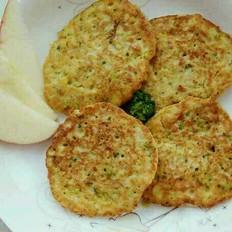 果蔬燕麦饼