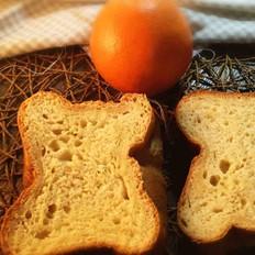 橙味酸奶吐司(面包机版)
