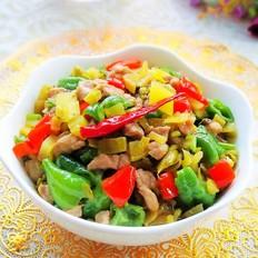 双椒酸菜肉末