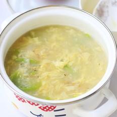 丝瓜虾皮鸡蛋汤的做法大全