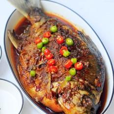 干烧红鲳鱼