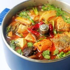 白菜香菇炖鱼