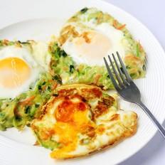 西葫芦煎鸡蛋
