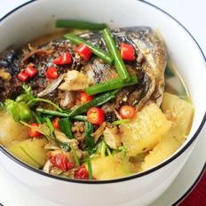 鱼头炖冬瓜