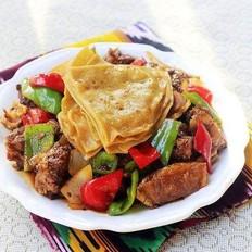 新疆羊肉封饼子