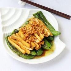 辣椒煎杏鲍菇