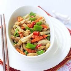 胡萝卜藕丁炒肉