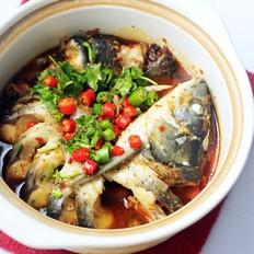 砂锅炖草鱼