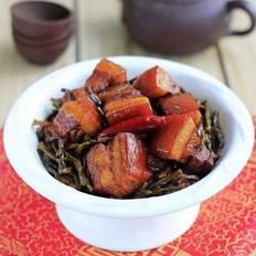 干豆角红烧肉