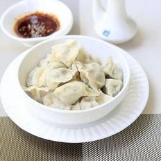 豇豆猪肉饺子