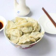 韭菜木耳羊肉饺子