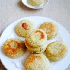 豆渣糯米饼