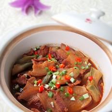萝卜干肉煲