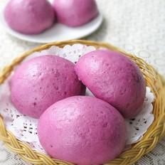 牛奶紫薯馍馍