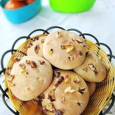 葡萄干核桃小酥饼