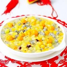 水果玉米汤圆