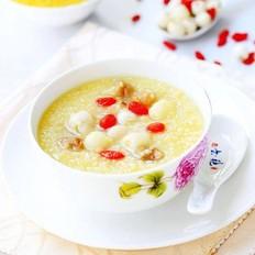 桂圆莲子小米粥