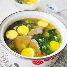 猪肝日本豆腐汤