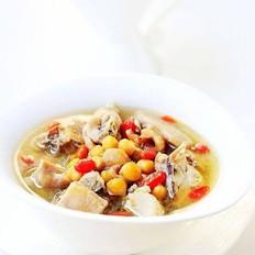 鹰嘴豆炖土鸡