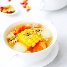 玉米山药菊花汤